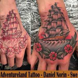 Adventureland Tattoo - Sweden