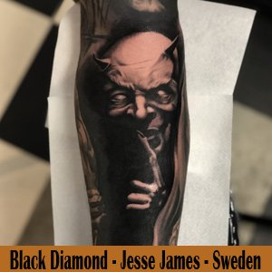 Black Diamond Tattoo - Sweden