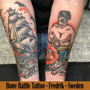 Bone Rattle Tattoo - Sweden