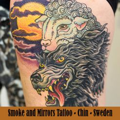 Smoke and Mirrors Tattoo - Sweden